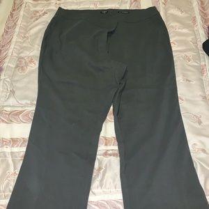 LOFT Plus olive Marisa fit trousers 20W